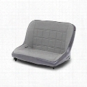 MasterCraft Safety Original Shorty Bench with No Headrest (Gray) - 773009