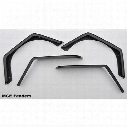 MCE Fenders Gen II Flexible Flat Fender Flare Kit (Textured Black) - FFTJG2-EQ