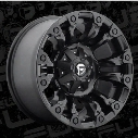 MHT Fuel Offroad D560 Vapor, 20x10 Wheel with 5 on 4.5 and 5 and 5 Bolt Pattern - Black Matte - D56020002647