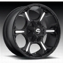 MHT Fuel Offroad Dune, 20x9 Wheel with 5 on 150 and 5 on 5.5 Bolt Pattern - Black Milled - D52320907057