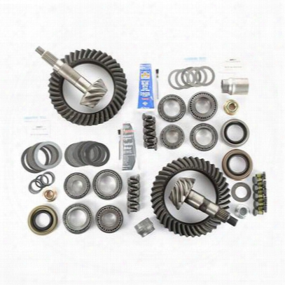 Alloy Usa Tj Wrangler Front And Rear 3.73 Ring And Pinion Kit - 360032