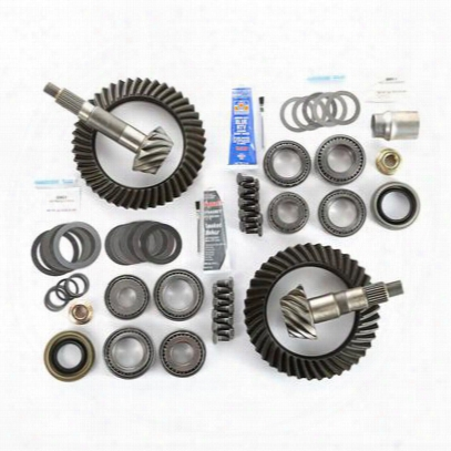 Alloy Usa Tj Wrangler Front And Rear 4.10 Ring And Pinion Kit - 360031
