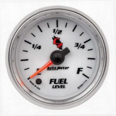 Auto Meter C2 Electric Programmable Fuel Level Gauge - 7114
