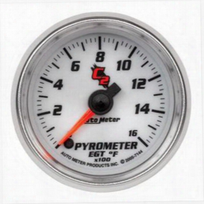 Auto Meter C2 Electric Pyrometer Gauge Kit - 7144