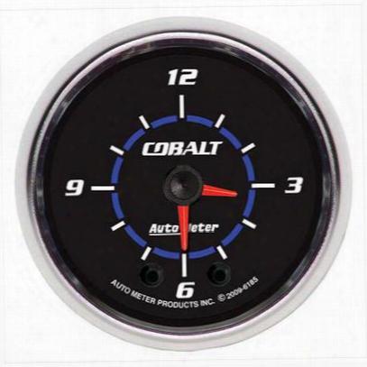 Auto Meter Cobalt Clock - 6185