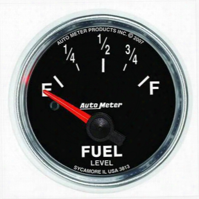 Auto Meter Gs Electric Fuel Level Gauge - 3813