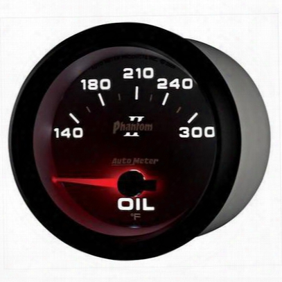 Auto Meter Phantom Ii Electric Oil Temperature Gauge - 7848