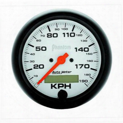 Auto Meter Phantom In-dash Electric Speedometer - 5887-m