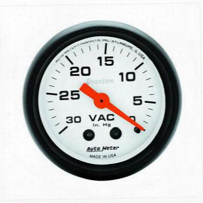 Auto Meeter Phantom Mechanical Vacuum Gauge - 5784