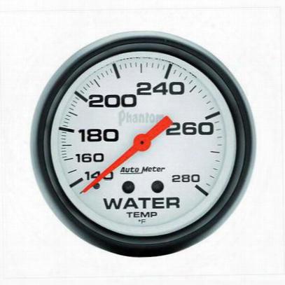 Auto Meter Phantom Mechanical Water Temperature Gauge - 5831