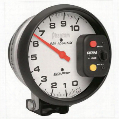 Auto Meter Phantom Memory Tachometer - 5795