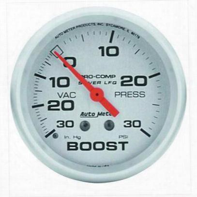 Auto Meter Silver Boost/vacuum Gauge - 4603