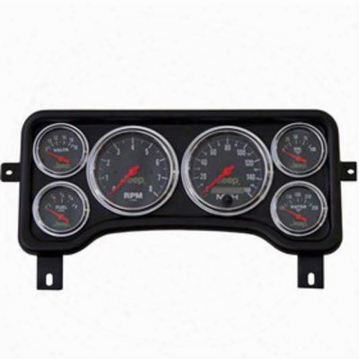 Auto Meter Tj Direct Fit Gauge Panel - 5381