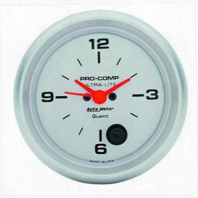 Auto Meter Ultra-lite Clock - 4485
