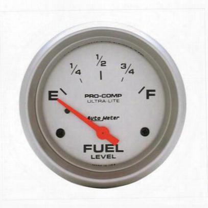 Auto Meter Ultra-lite Electric Fuel Flush Gauge - 4417