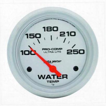 Auto Meter Ultra-lite Electric Water Temperature Gauge - 4437