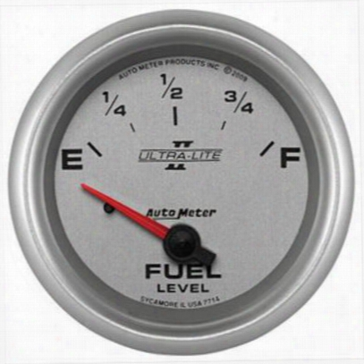 Auto Meter Ultra-lite Ii Electric Fuel Level Gauge - 7714