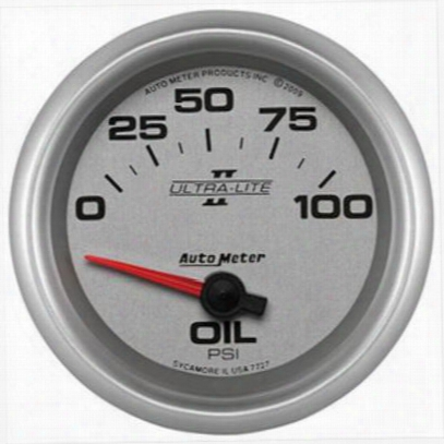 Auto Meter Ultra-lite Ii Electric Oil Pressure Gauge - 7727
