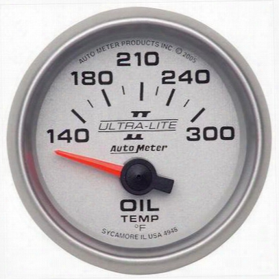 Auto Meter Ultra-lite Ii Electric Oil Temperature Gauge - 4948