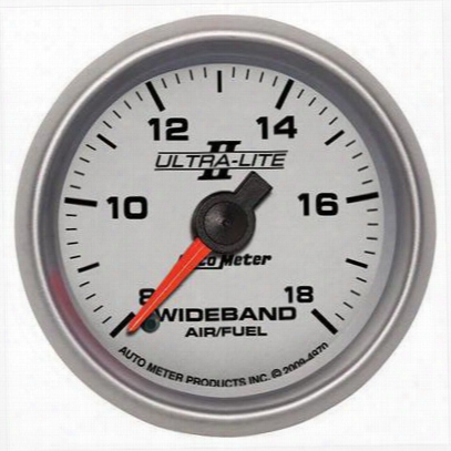 Auto Meter Ultra-lite Ii Wide Band Air Fuel Ratio Kit - 4970