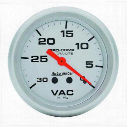 Auto Meter Ultra-lite Mechanical Vacuum Gauge - 4484