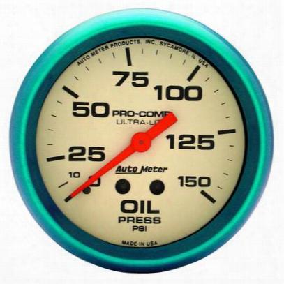 Auto Meter Ultra-nite Oil Pressure Gauge - 4523