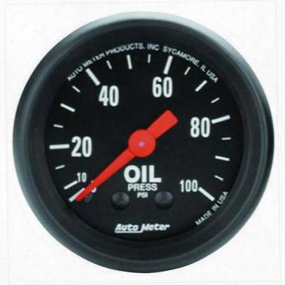 Auto Meter Z-series Mechanical Oil Pressure Gauge - 2604