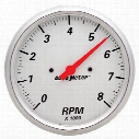 Auto Meter Arctic White Street Rod Tachometer - 1399