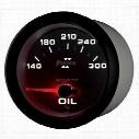 Auto Meter Phantom II Electric Oil Temperature Gauge - 7848