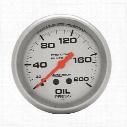 Auto Meter Silver Oil Pressure Gauge - 4622