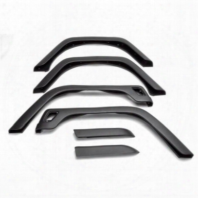 Omix-ada 6-piece Fender Flare Kit (paintable) - 11603.11