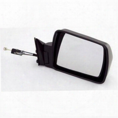 Omix-ada Cable Remote Passenger Side Mirror (b Lack) - 12035.1
