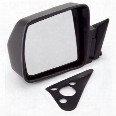 Omix-ada Manual Door Mirror (black) - 12035.09