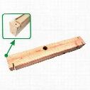 Omix-ADA Bumper Wood Fill - 12021.69