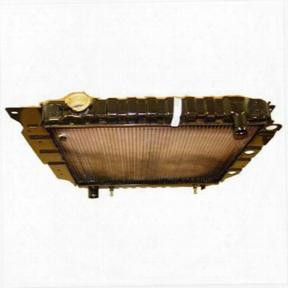 Omix-ada Replacement 1 Core Radiator For 4 Or 6 Cylinder Engine With Automatic Trans Mission - 17101.12