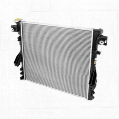 Omix-ada Replacement 1 Core Radiator For V6 Engine With Automatic Transmission - 17101.38