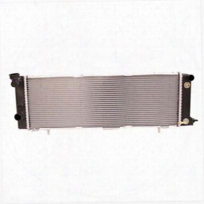 Omix-ada Replacement 2 Row Radiator For 4.0l 6 Cylinder Engine With Automatic Transmission - 17101.34