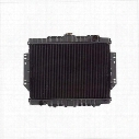 Omix-ADA Replacement 2 Core Radiator for AMC 6 or 8 Cylinder Engine with Automatic Transmission - 17101.09