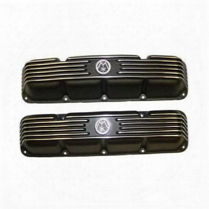 Omix-ada Aluminum Valve Covers (coated) - 17401.1