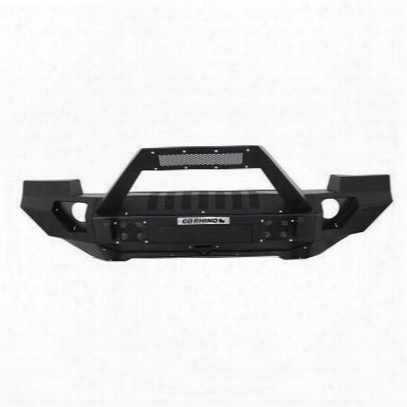 Go Rhino Brj40 Front Bumper With Trailline Light Bar Mount And Full End Caps (textured) - 230120103t