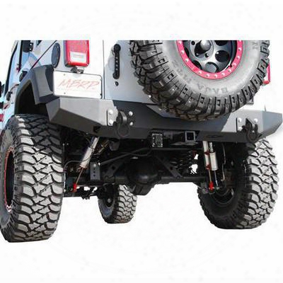 Off Camber Fabrications Full Width Rear Bumper Package (black) - 131177