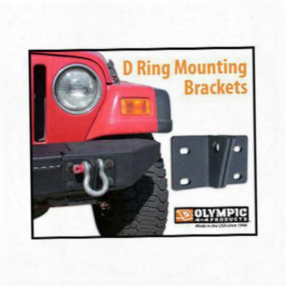 Olympic 4x4 Products D-ring Mounting Brackets - 344-174
