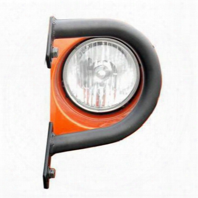 Olympic 4x4 Products Light Guards In Gloss Black (black) - 670-171