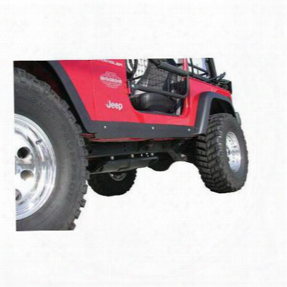 Olympic 4x4 Products Rocker Guards (black) - 127-121