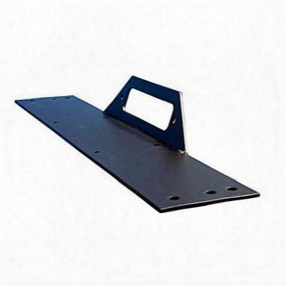 Olympic 4x4 Products Winch Top Frame Mount (textured Black) - 508-124