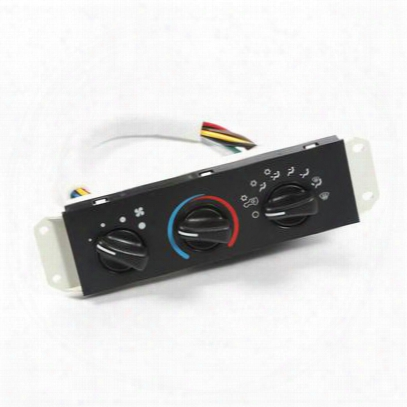 Omix-ada Climate Control Panel (black) - 17903.06