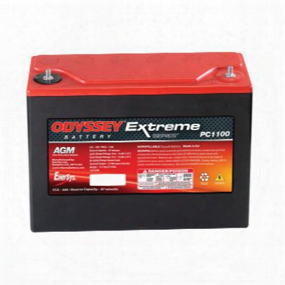 Odyssey Batteries Extreme Raci Ng, Universal, 500 Cca, Top Post - Pc1100