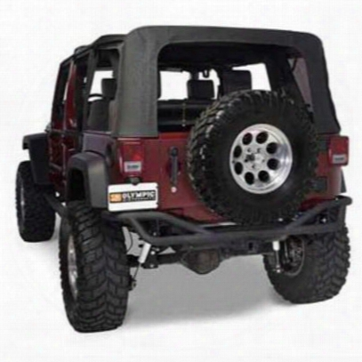 Olympic 4x4 Products Defender Rear Bumper In Textured Black (black) - 251-174