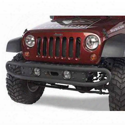 Olympic 4x4 Products Diamondback Front Bumper In Textured Black (black) - 230-174