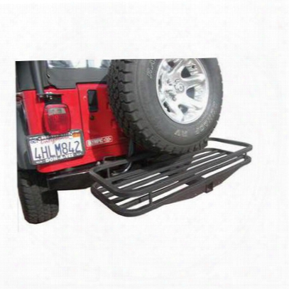 Olympic 4x4 Products Receiver Rack (black Textured) - 902-404